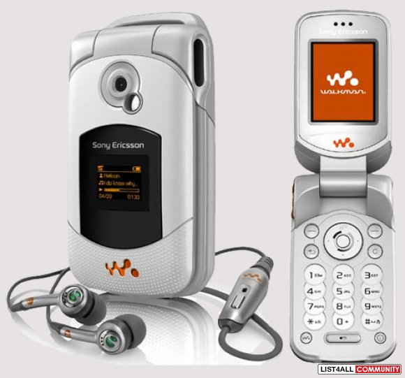 Sony Walkman Music Phone with Speakers for Fido
