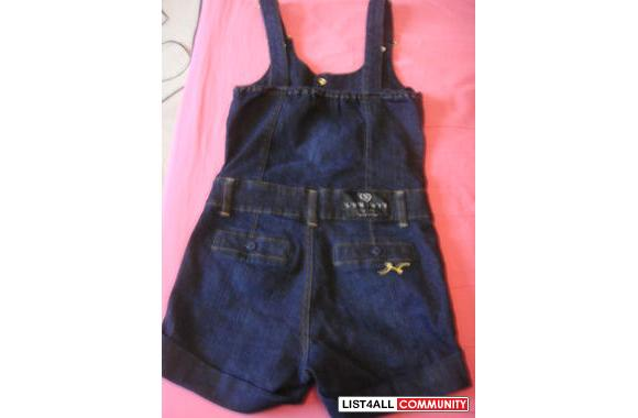 Luxirie by LRG denim overalls