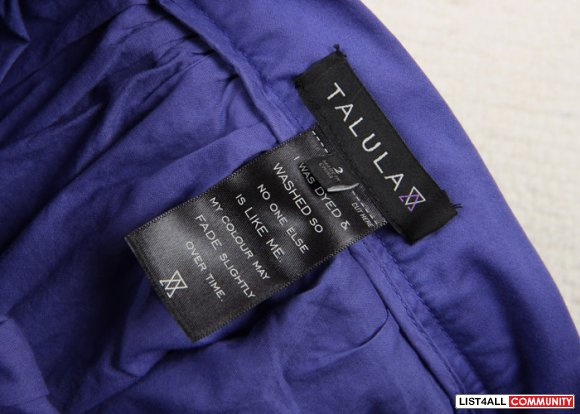 Aritzia Talula sateen tulle skirt, purple sz 2