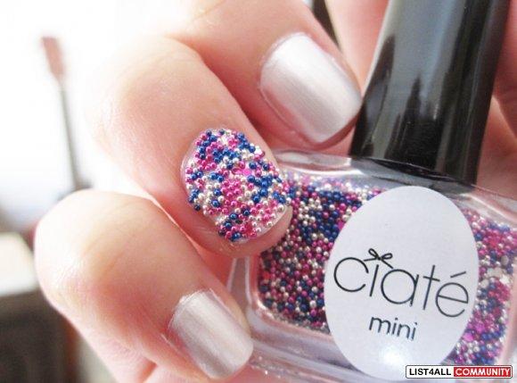 Ciate Mini Caviar Beads Glitter Prom Queen Manicure Nail Polish A