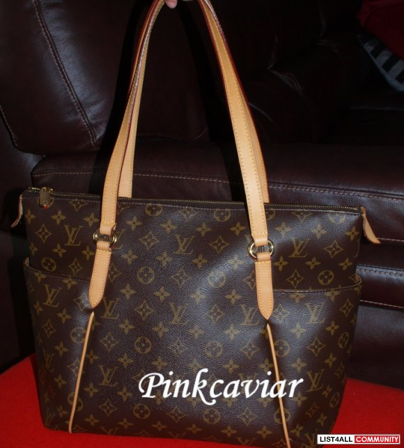 SOLD! Authentic Louis Vuitton Monogram Totally MM