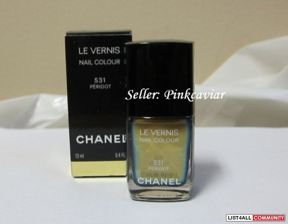 BNIB Chanel Peridot Nail Polish #531 - Limited Edition