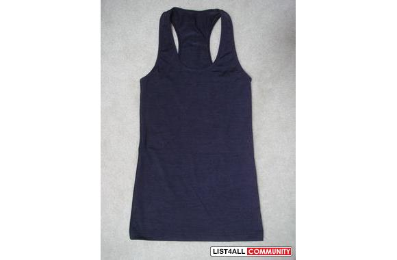 Lululemon Athletica Cool Racerback Tank:  100% authentic; 100% new!