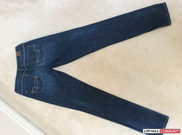 American Eagle skinny straight leg jeans - ladies size 2