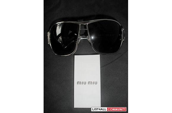 Authentic Miu Miu sunglasses