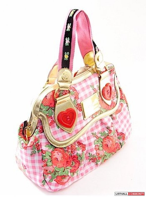 Betsey Johnson sweetheart bag