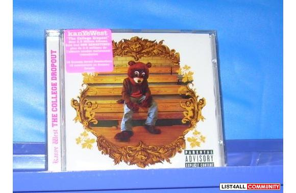 * NEW (Unopened) *CD:  The College Dropout (PA)  - Kanye West     $10