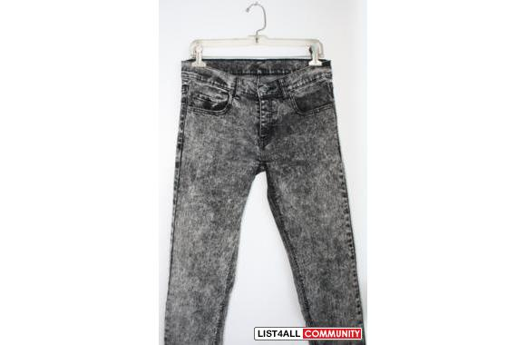 Cheap Monday Acid Wash Jeans :: ratstoriches :: List4All