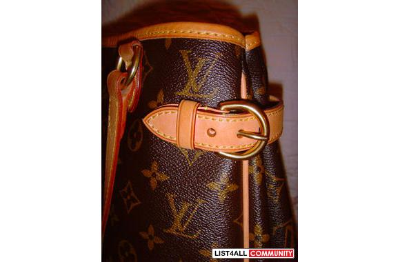 ||| LOUIS VUITTON Batignolles Vertical Tote in Monogram Canvas |||
