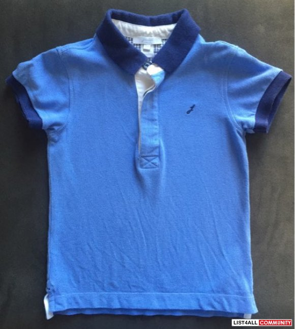 Jacadi blue polo