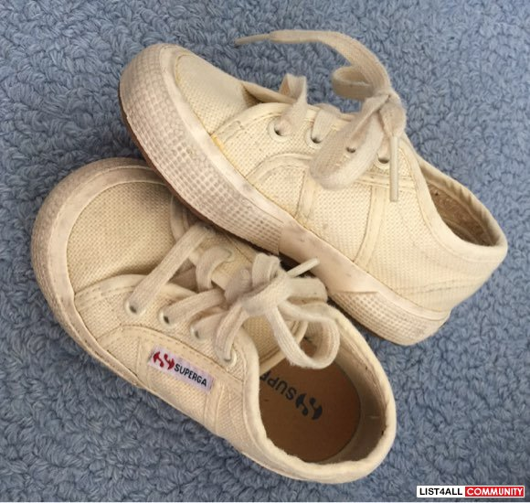 Superga Cream Sneakers