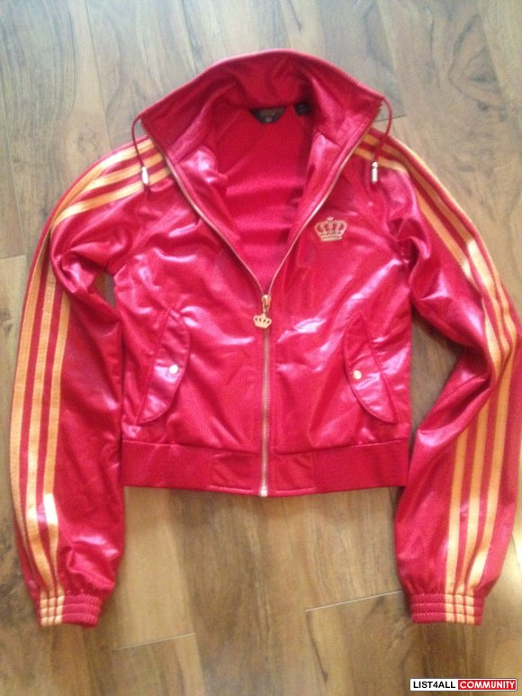 955eb4981659 ADIDAS Originals -- Missy Elliot red bronze track jacket - size XS ...