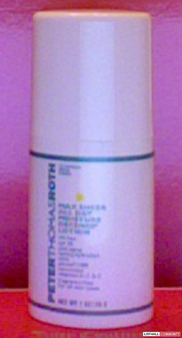 SALE $25 Peter Thomas Roth Max Sheer All Day Moisture Lotion SPF 30
