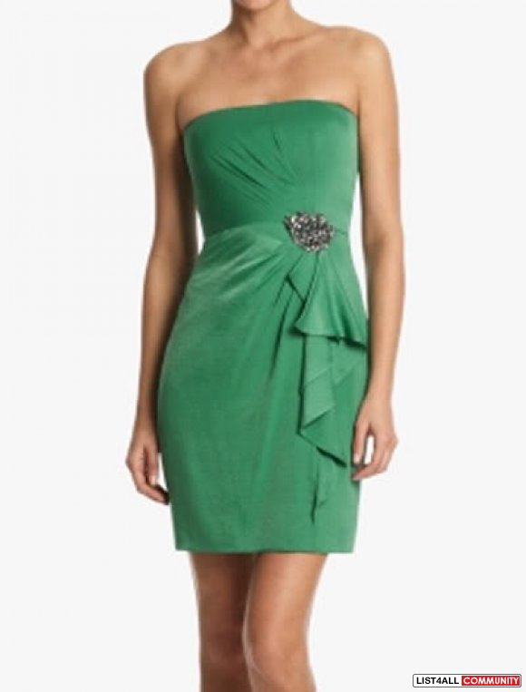 BCBG  Kelly Green Dress sz 4