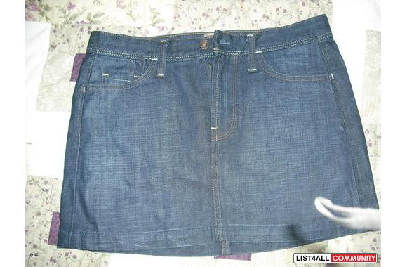 Authentic Seven for all mankind jean skirt