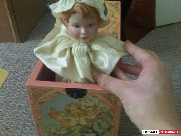 jack-in-the-box   spring fairy ANTIQUE