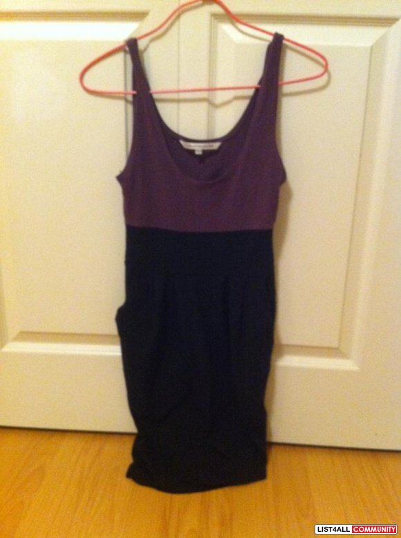CB purple and black dress $ 10