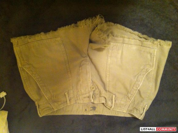 AE brown shorts $ 15