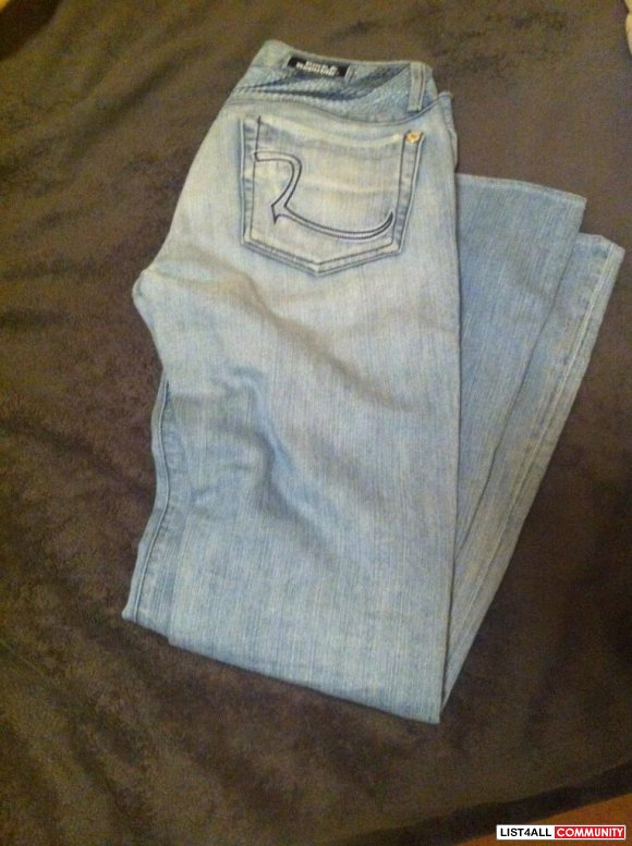 Rock Jeans Size 25 (light blue) $ 40