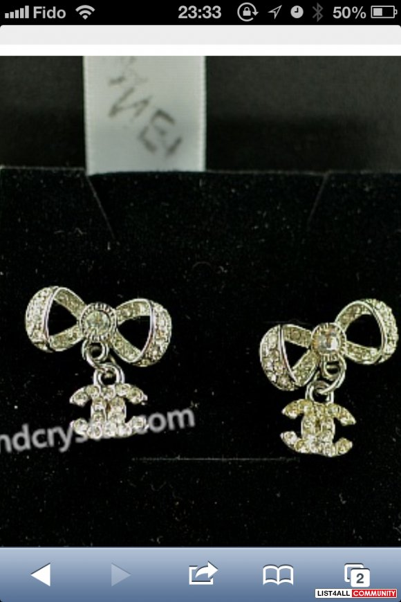 Chanel Earring -brand new with box