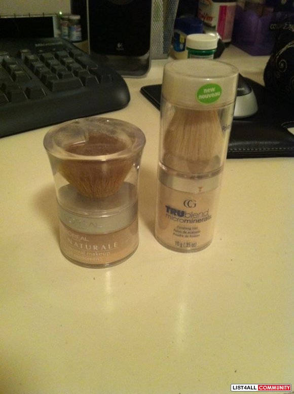 Covergirl Tru-blend, Loreal Blend powder (ivory) $ 10 each, $15 for bo