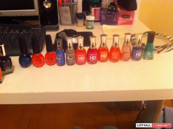 Misc Nail polish, all items in photo $ 15.
