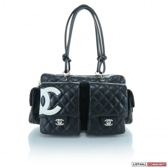 100% Authentic Chanel Cambon