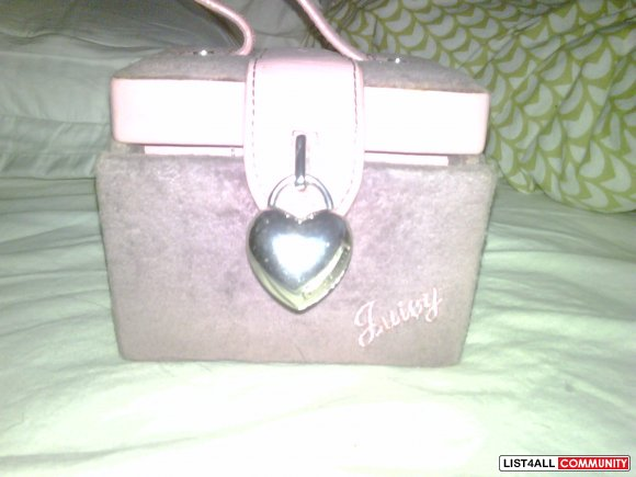 Juicy Couture Jewellery Case
