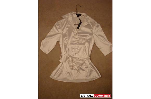 BRAND NEW WITH TAGS SEDUCTION BLOUSE SZ SMALL