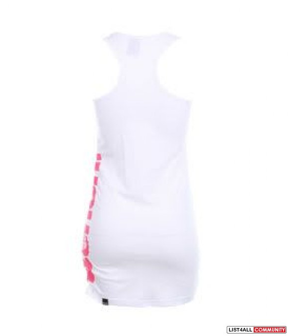 NWT BENCH WHITE VOLLEY VEST TANK TOP XS