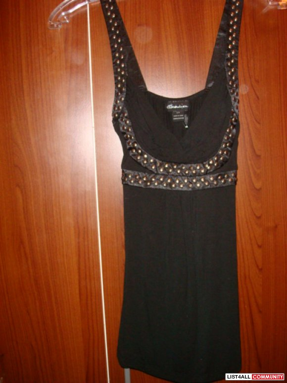 NWT SEDUCTION CLUBBING TOP SMALL