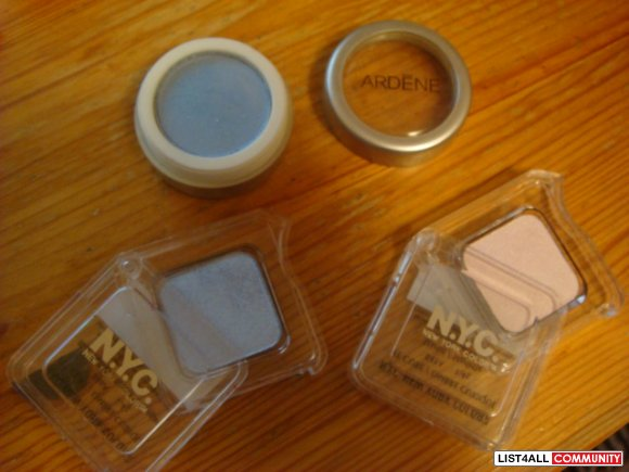 NYC, ARDENE EYESHADOWS