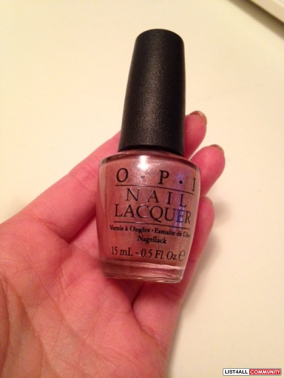 NEW OPI PINK BEFORE YOU LEAP
