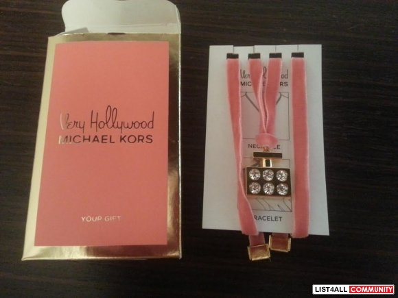 NEW MICHAEL KORS BRACELET NECKLACE CHARM