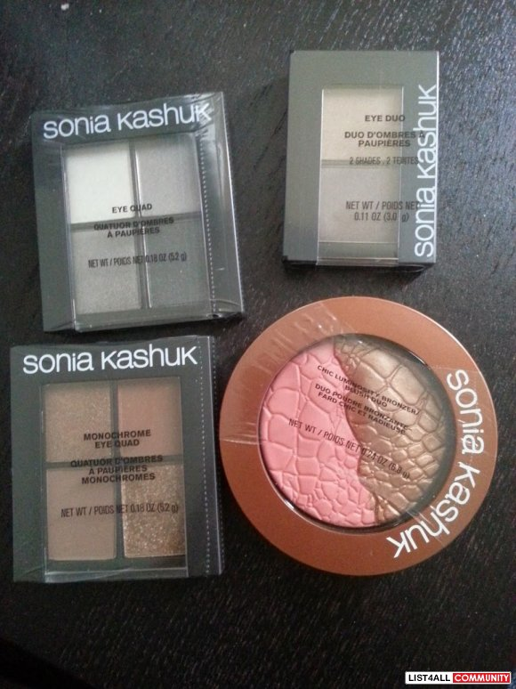 SONIA KASHUK EYE SHADOW AND BLUSH/BRONZER