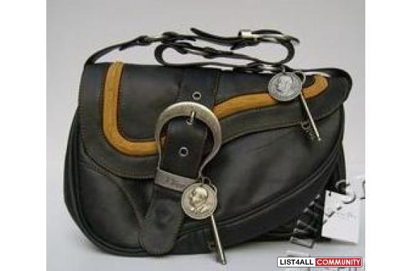 f1688988a1b0 CHRISTIAN DIOR Gaucho Double Saddle Bag    srbag123    List4All