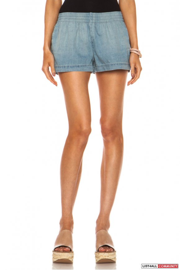 Aritzia Rag & Bone Pajama Denim Shorts XS
