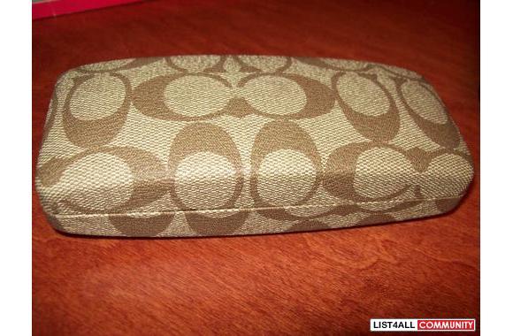dc10bd369dff Authentic Coach Eyeglasses Case!! brand spankin new :: sweetcamel ...