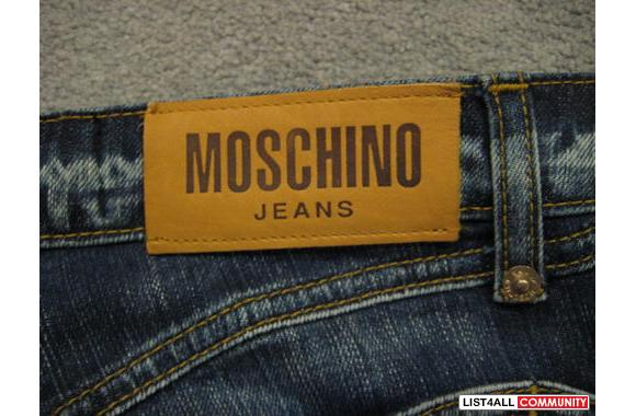 designer fashion dea9d 7ba35 BRAND NEW Moschino Jeans Donna from ITALY with tag ...