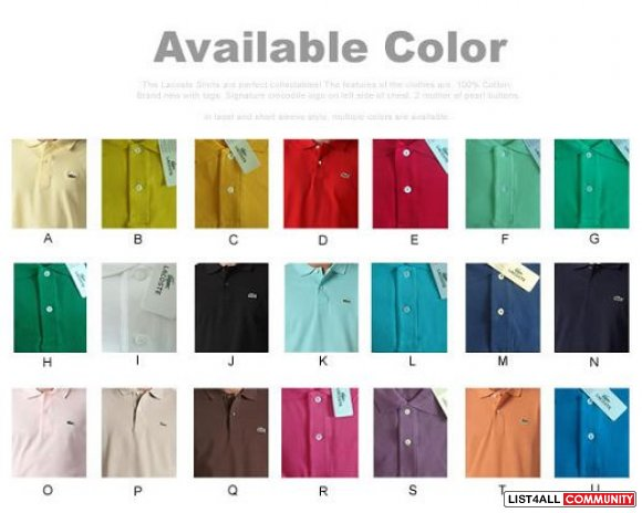 size 40 dd27e c2c3e Lacost polo shirts for your summer,lacoste outlet online ...