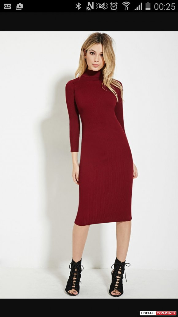 F21 Knitted Dress