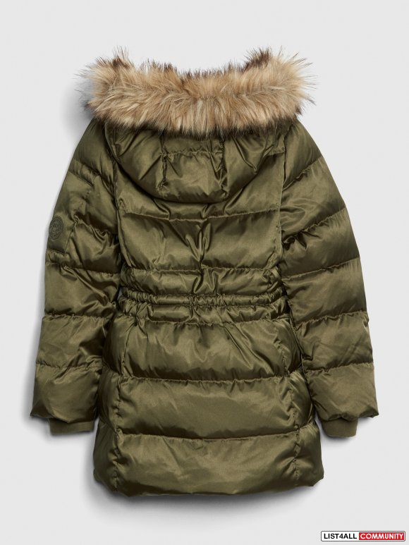 GAP Kids ColdControl Ultra Max Down Puffer Size Medium & small