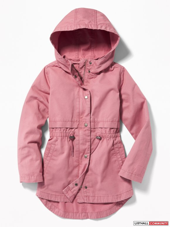 Old Navy Hooded Scout Jacket for Girls