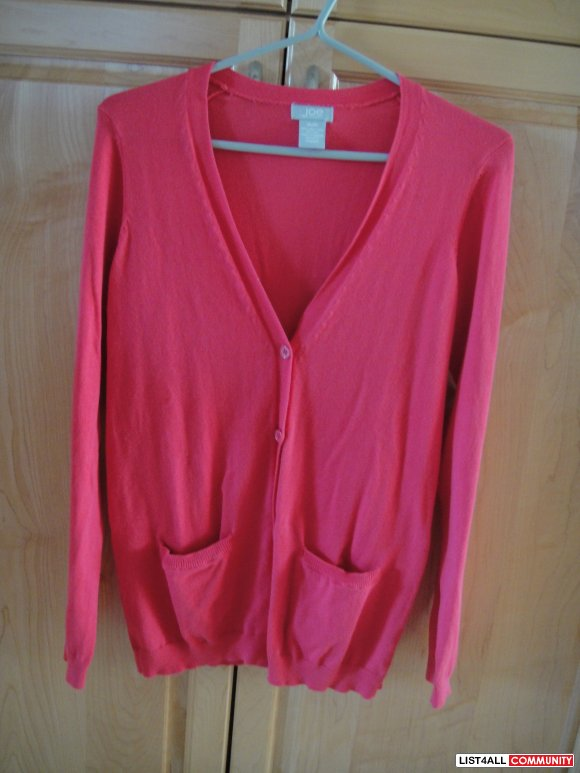 BNWOT Pink Joe Fresh Cardigan Size Medium