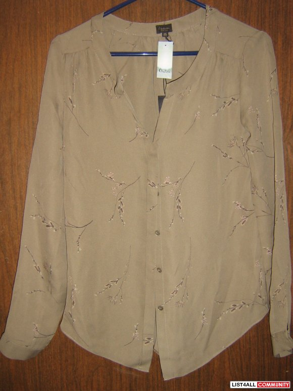 BNWT Talula Babaton Bergen Blouse in Winter Willow Roots