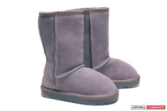 Freeshipping!!! 2011 UGG Kid's 5229 snow boots 100% Genuine Leather