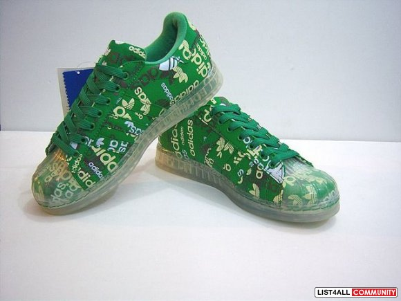 Adidas Superstar CLR special edition green white 027902