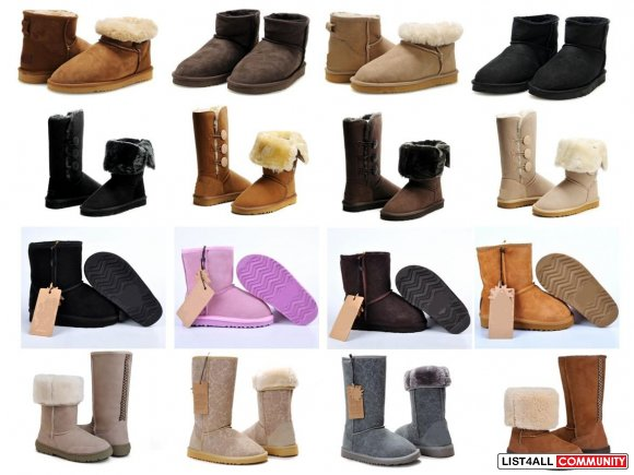 Wholesale Australia Sheepskin Boots, Women Winter Boots, Lady Snow Boo