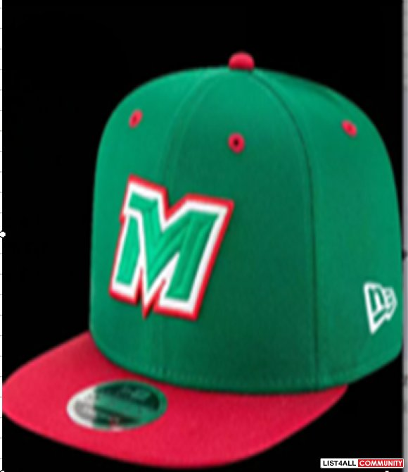 MLB Mexico Baseball Cap Embroidery Team logo Gorra de beisbol Fitted H