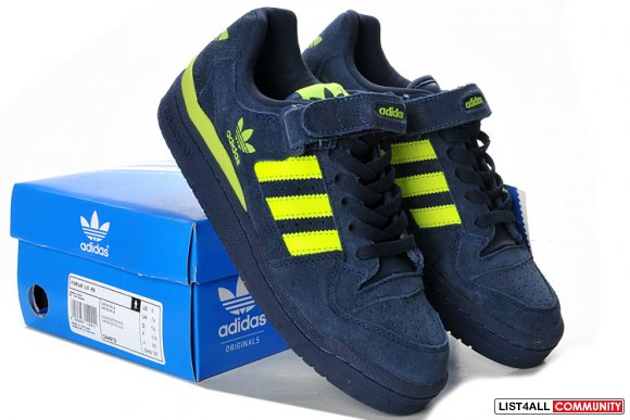 Adidas Originals Forum Lo Rs Casual Shoes Navy / Yellow G44972